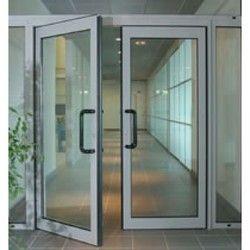 aluminium glass door glass door st andrew infrastructures coimbatore id 18886945433