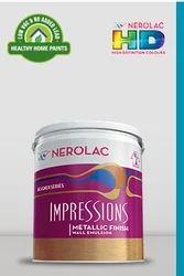 Impressions Metallic Finish