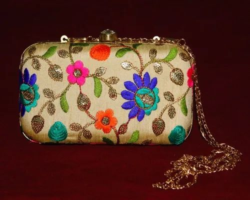 Embroidered Clutch Bags