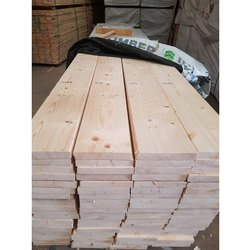 White Pinewood Canadian Pine Wood, Thickness: 10-120 Mm, Grade: S4s