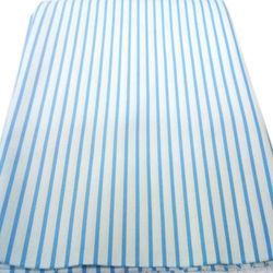 Striped Poly Cotton Shirting Fabric