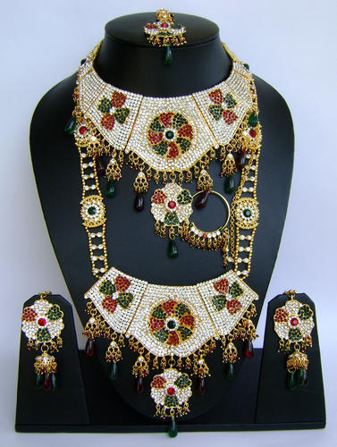 Wedding Bridal Fashion Jewellery Dulhan Setws53 at Rs 3250 piece