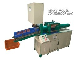 Hydraulic Cone Dhoop Making Machine