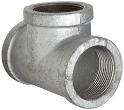 Galvanized Malleable Iron Pipe Fittings, 1/2 Inch And 1 Inch