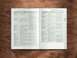 Art Paper English Schools Prospectus Catalogue, Amsburg, School Level