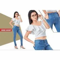 Ladies Casual Wear Denim Jeans