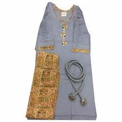 3/4 Sleeve Cotton Palazzo Suit