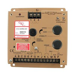 GAC Electronic Speed Governor for Gensets and Locomotives