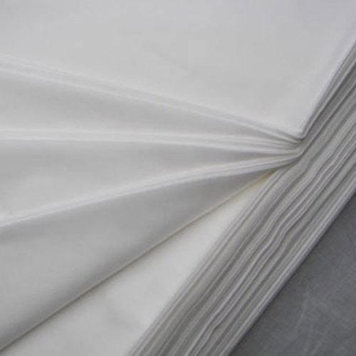Daisy White Bleached Cotton Fabric, GSM: 50-100 GSM, Packaging Type: Roll