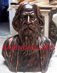 Tagore Statues