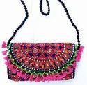 Ladies Gift Handmade Barmeri Print Handbag