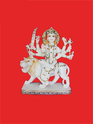 Beautifully Carved Maa Durga Statue