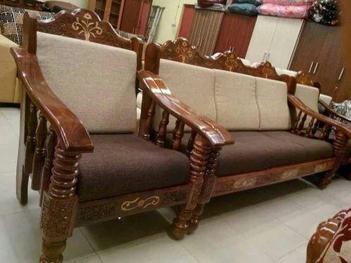Teakwood Handcrafted Sofa 3 1 1 At Rs 39500 Piece Mogappair Chennai Id 20269958830
