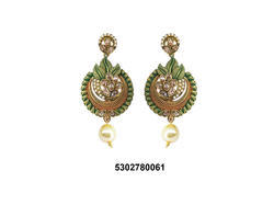 Fancy Antique Earring