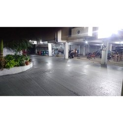 Reinforced Concrete Flooring Service, in Commercial Building, Installation