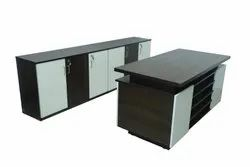ORGOWOOD White WOODEN TABLE, For Office Furniture, Size: 6*2.5