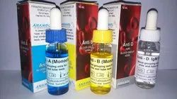 Blood Grouping Reagent Anti Monoclonal Diagnostic Test Kit