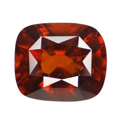 Orangey Red Unheated Gomed Stone