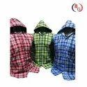 Mens Hooded Cotton Shirt