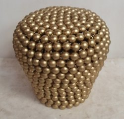 Anantaas - Ball Side Stool for Home, Size: 18x18x18