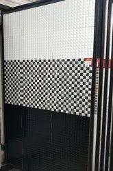 Pixtile White/Nero Hl/Nero(Somany Digital Wall Tiles), Thickness: 10-15 mm, Size: 300 x 450 mm