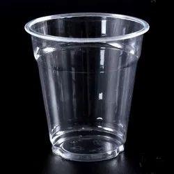 Transparent Plain Disposable Water Plastic Glass