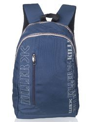 Navy Blue Lesner Laptop Backpack Bag