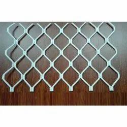 White Aluminium Aluminum Window Grill