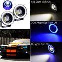 Blue Angel Eye Drl Car Lights