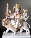 Marble Maa Durga Statue