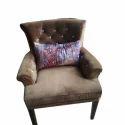 Modern Brown Designer Sofa Chair