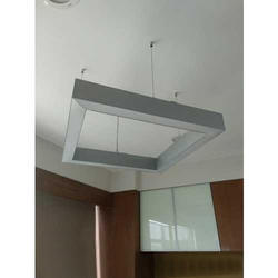 LED Aluminium Square Suspended Light, 45 W