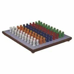 Multi Coloured Pegboard