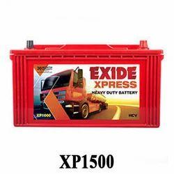 Exide XP 1500 HCV Heavy Duty Truck Battery, 12 V, Warranty: 36 Months