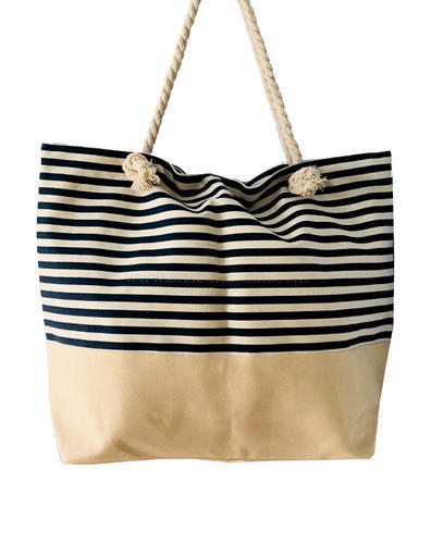 Canvas Tote Bags Large Beach Bag Size Customisable And
