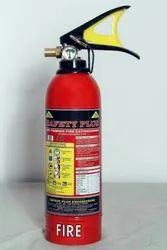 ABC Mild Steel Safety Plus Fire Extinguisher Sold, For Industrial, Capacity: 6KG