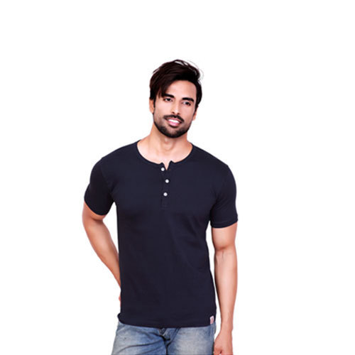 988cf7bb Pyramid Cotton Henley Neck T Shirt, Rs 240 /piece, U And S Ventures ...