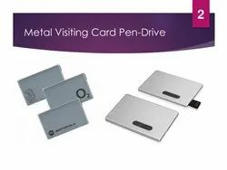 Credit Card Pendrive - Metal
