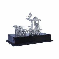 Aluminium Rath Statue