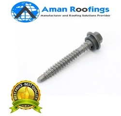 Self tapping roofing screw