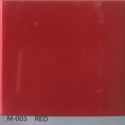 Red Acrylic Solid Surface