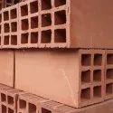 Hollow Clay Bricks, Size: 16*6*8 Inch