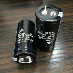 Aluminium Capacitor 470Mfd/400V Epcos, For cnc machine
