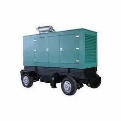 Silent Or Soundproof Diesel Mobile Generator Rental Service