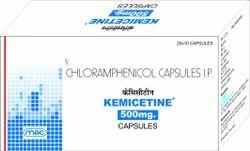 Kemicetine Chloramphenicol 500mg Capsules