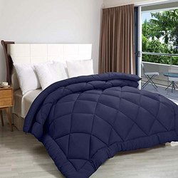 ThreadWorks Ultra Soft Microfiber Double Bed Comforter Quilt Duvet