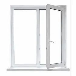 Jindal Aluminium White Aluminum Casement Window