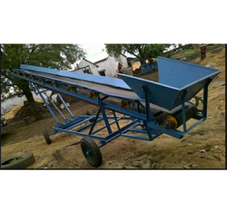 Truck Loader Mobile Belt Conveyor for Biocoal