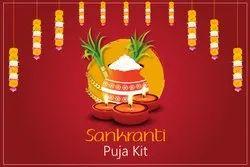 Sankranti Puja Kit, Packaging Type: Box