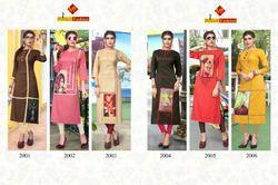 Designer Khadi Rayon Kurtis